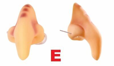 £0.99 • Buy Fake Large Nose On Elastic, Fancy Dress,Goblin/Dwarf/Ugly/Giant/Old, STYLE E
