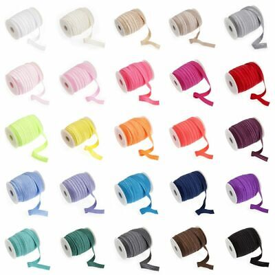 $ CDN2.92 • Buy Fold Over Elastic 16mm Wide - 27 Colours - Multibuy Savings & Free Postage