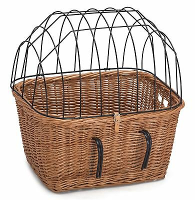 Wicker Bicycle Pet Carrier • 45£