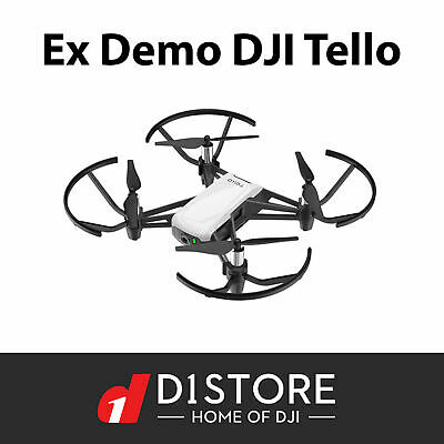 AU129 • Buy Ex Demo DJI RyzeTech Tello Camera Drone White HD Video Australian Warranty