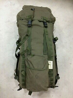 Rucksack/Bergen And Frame,(INF) Long Convoluted Back,Olive Green. IRR Used #1443 • 29.95£