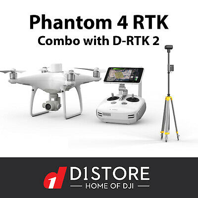 AU8239 • Buy DJI Phantom 4 RTK & D-RTK 2 GNSS Mobile Station Australian Stock