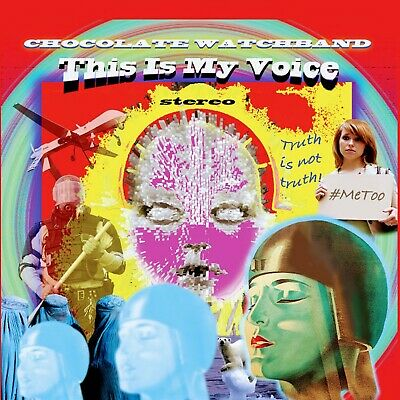 The Chocolate Watchband - This Is My Voice (Splatter Vinyl) DWC1117LP • 17.99£
