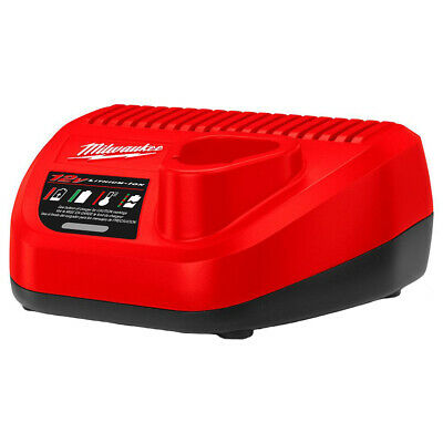 AU84 • Buy Genuine Milwaukee 12V Li-Ion M12 RED LITHIUM Battery Charger - Au Stock