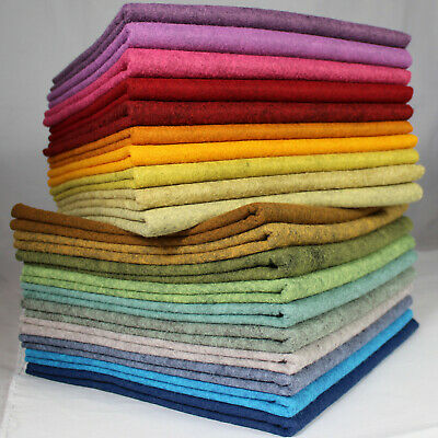 Wool Blend Felt Heathered 1mm Thick NATIONAL NONWOVENS • 1.25£
