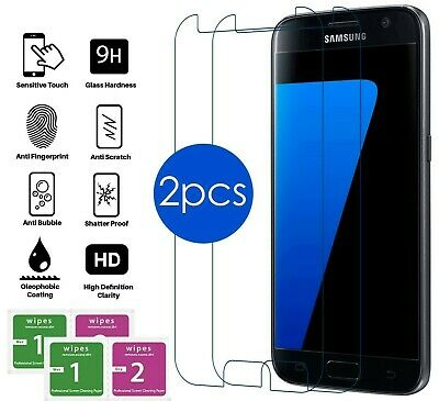 $ CDN6.06 • Buy Screen Protector For Samsung Galaxy S6 Clear Tempered Glass Full Cover Clear