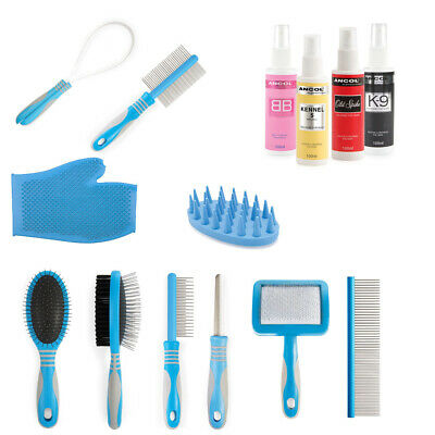 Ancol Dog Puppy Grooming Tools Pet Cologne Perfume / Nail File / Shedding Blade • 11.99£