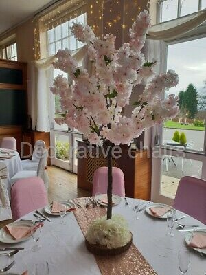 8 X 4ft Blossom Tree Table Centrepieces Pink For Hire For £250 • 250£