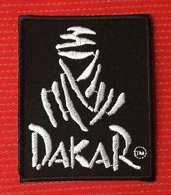 Paris Dakar Rally Raid Race Trucks Motorcycle Bike Car Badge Iron Sew On Patch • 2.99£