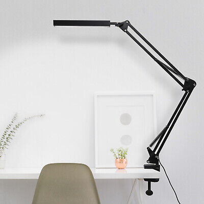 £13.29 • Buy Adjustable Long Arm USB Desk Lamp Bed Reading Led Light Table Clip-on Clamp