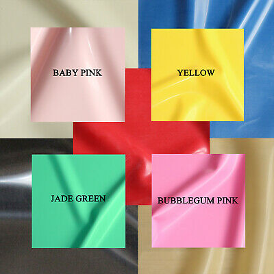 £10.95 • Buy 0.50mm Gauge Sheet Latex/Rubber By Continuous Metre, 1m Width: 10 Colours