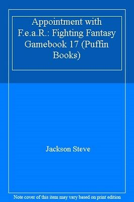 AU6.79 • Buy Appointment With F.E.A.R. (Puffin Books) By Steve Jackson. 9780140319224