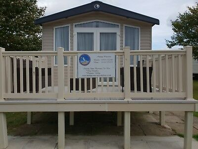 Caravan For Rent Hire Let Haven's Blue Dolphin Filey North Yorkshire • 136£