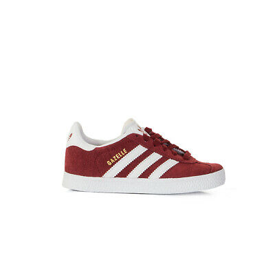 cheap for discount d55dd 8c2be Scarpa Bambino ADIDAS ORIGINALS Modello Gazelle. Colore Bordeaux. • 54€