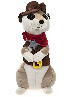 13  Village People Fancy Dress Meerkat Super Soft Plush Toy Cowboy • 23.42£