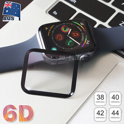 AU5.95 • Buy For Apple Watch Series 5/4/3/2/1 Tempered Glass Screen Protector 38/42/40/44mm