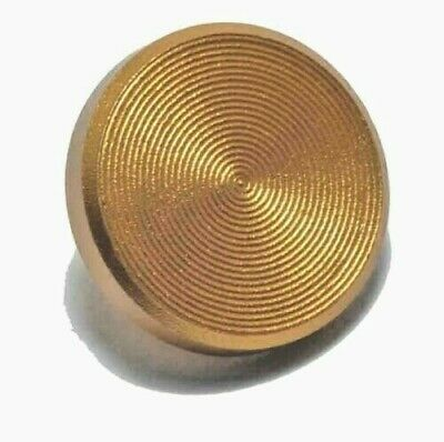 £2.99 • Buy KOOD Quality Flat Shutter Button Soft Release In Gold For Fuji Olympus Screw In