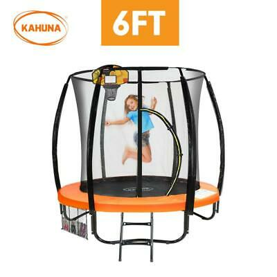 AU499.95 • Buy Kahuna 6 Ft Trampoline With LED Basketball Set