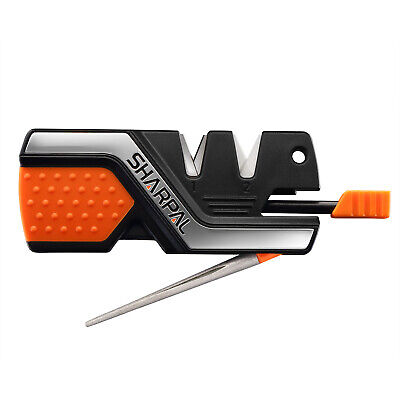AU16.99 • Buy Pocket Knife Sharpener Survival Tool For Outdoor Hunting Fishing Hiking Camping