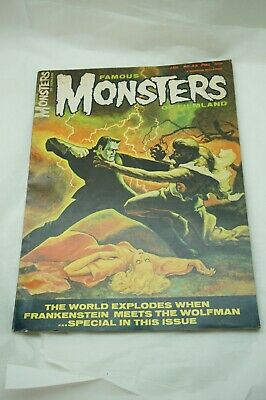 $ CDN50.05 • Buy FAMOUS MONSTERS OF FILMLAND MAGAZINE JAN 1966 42 AURORA ADDAMS FAMILY MODEL AD H