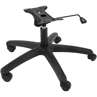 AU77.99 • Buy Heavy Duty Office Chair Bottom Plate, Cylinder, Base, 5 Casters Under Seat Kit