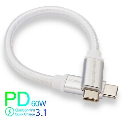 AU40.84 • Buy USB C To USB-C 3.1 PD 100W Charging 3A DATA Cable Male To Male MACBOOK IPAD 2018