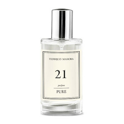 FM 21 Pure Collection Federico Mahora Perfume For Women 50ml UK • 14.99£