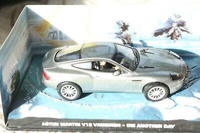 £6.99 • Buy James Bond 007 Car Collection Aston Martin V12 Vanquish Die Another Day
