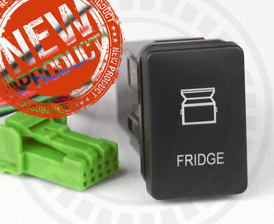 AU23.95 • Buy Mitsubishi TRITON MQ Fridge Switch Highest Quality Dual Amber LED's New Gen3