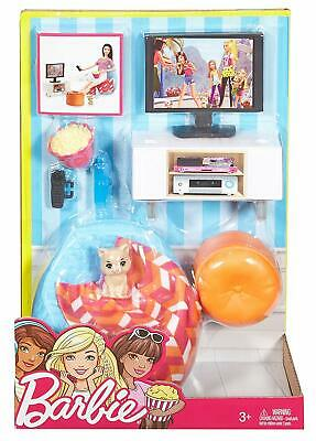 Barbie Living Room Furniture Set With Pet Cat 16 99