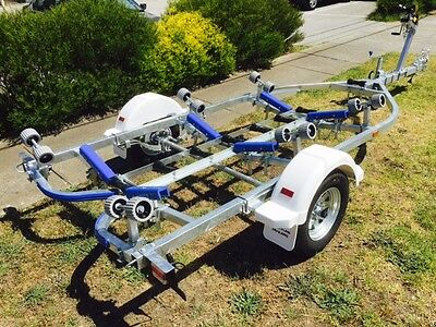 AU2102 • Buy Precision Boat Trailer 5.2 Mt Suit 14-16 Ft Boats Full Galv Drive On