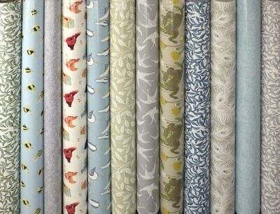 Clarke and Clarke Laridae Duckegg Cotton PVC WIPE CLEAN Tablecloth Oilcloth