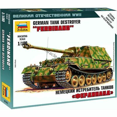 AU3.82 • Buy Zvezda 6195 Sd.Kfz.184  Ferdinand  /german Heavy Tank Destroyer/ 1/100