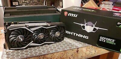 $ CDN1306.73 • Buy MSI NVIDIA GeForce GTX 1080 Ti Lightning Z Mint