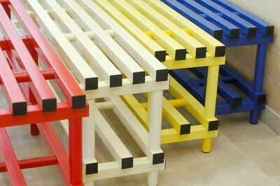 Hard Plastic Bench PVC Waterproof With Under Storage Multi Functional  • 139£
