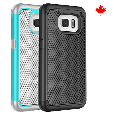 $ CDN6.99 • Buy Fits Samsung Galaxy S7 Edge Case Shockproof Rugged Rubber Hybrid Impact Cover