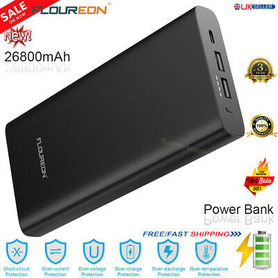 View Details 26800mAh PD60W Power Bank Type-C USB-C Portable Battery Charger For Cellphone • 39.99£