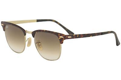 01746f15f3f Ray Ban Clubmaster RB3716 3716 9008 51 Havana Gold Brown RayBan Sunglasses  51mm