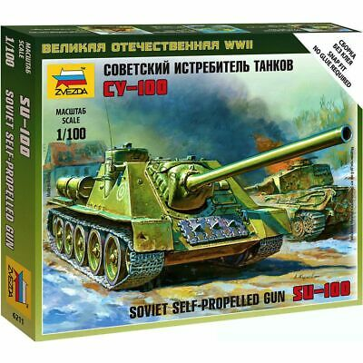 AU3.82 • Buy Zvezda 6211 Su-100 /soviet Tank Destroyer/ 1/100