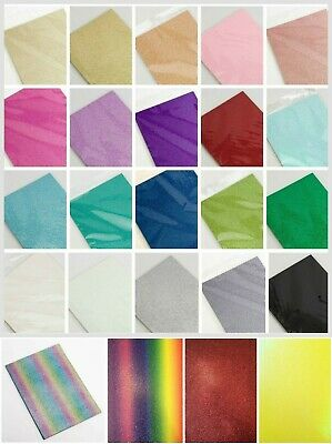 £7.50 • Buy A4 Glitter Card Cardstock Premium Quality Low Shed 250gsm - 28 Colours + Mixed