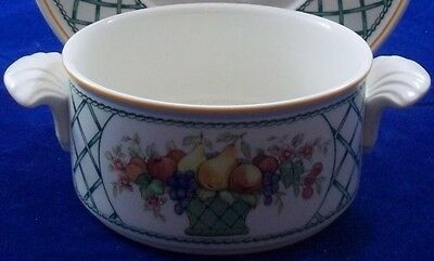 Villeroy & And Boch BASKET Cream Soup Bowl / Coupe Only (no Saucer) • 29.59£