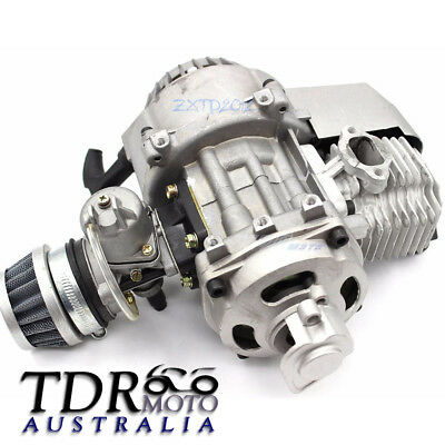 AU99.95 • Buy 43CC 47CC 49CC 50CC 2-STROKE ENGINE MOTOR For POCKET MINI BIKE SCOOTER ATV QUAD