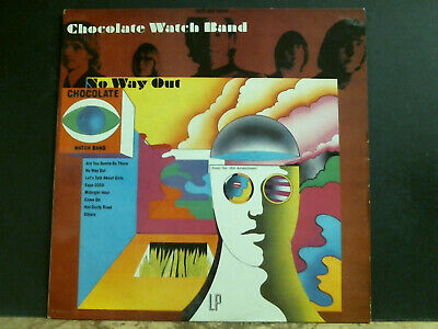 CHOCOLATE WATCH BAND   No Way Out  LP   French Reissue  Psych Monster   GREAT !! • 26£