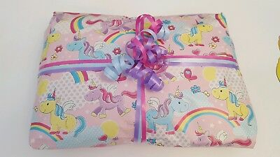 £12.99 • Buy Pass The Parcel Baby Unicorn 10 Or 15 Layers + Main Prize Party Games Ready Made