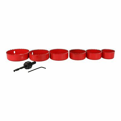 £10.25 • Buy 8pc Down Light Installers Kit Hole Cutter Saw Drill Arbor 50 - 86mm Circle Saws