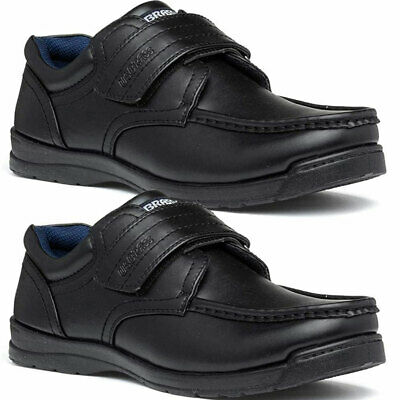 Boys Smart Dress Shoes Kids Trainers Formal Wedding Black School Shoes Sizes 8-3 • 9.95£
