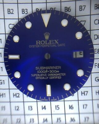 $ CDN203.79 • Buy Rolex Submariner 2Tone Blue Color Dial With Luminous Markers