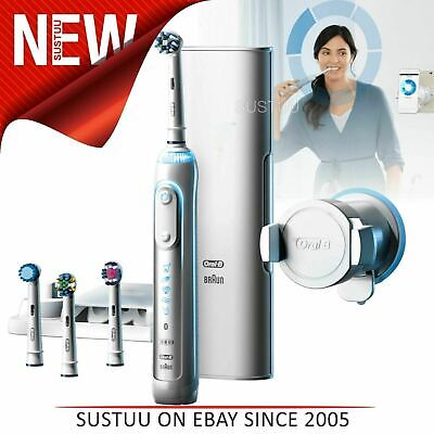 AU344.59 • Buy Oral-B Genius Pro 9000 White Electric Rechargeable Toothbrush│6 Brushing Modes