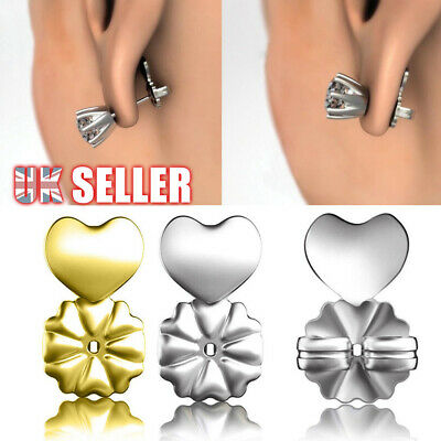 Hypoallergenic Studs Support Backs Bax Earrings Fits Lifts Magic Auxiliary Ear • 2.59£