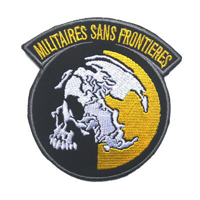 AU9.11 • Buy Metal Gear Solid Peace Walker  Air Soft COSPLAY Embroidery Badge TACTICAL PATCH